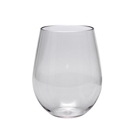 Tritan Wine 19 oz. Stemless Wine Clear