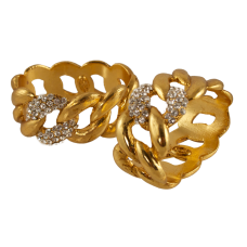 Links Napkin Rings  -set of four