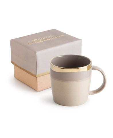 Organic Colorblock Mug Light Gray