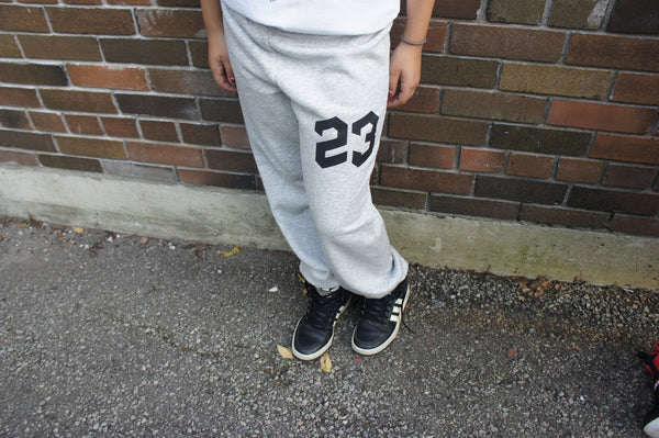 23 Youth Sweatpant (Grey with Black)