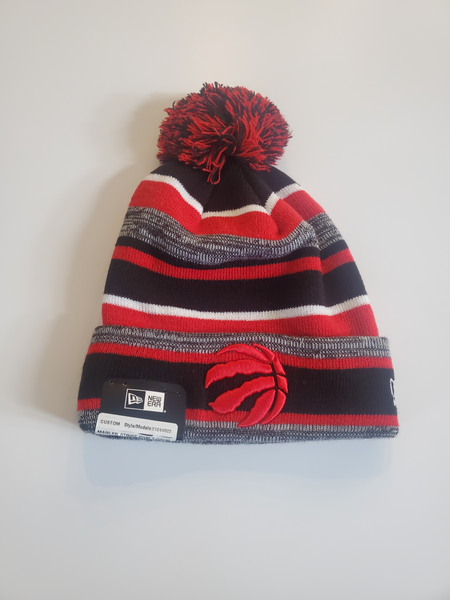 Raptors new era pom pom hat