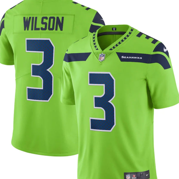 Russel Wilson Youth Stitched Jersey