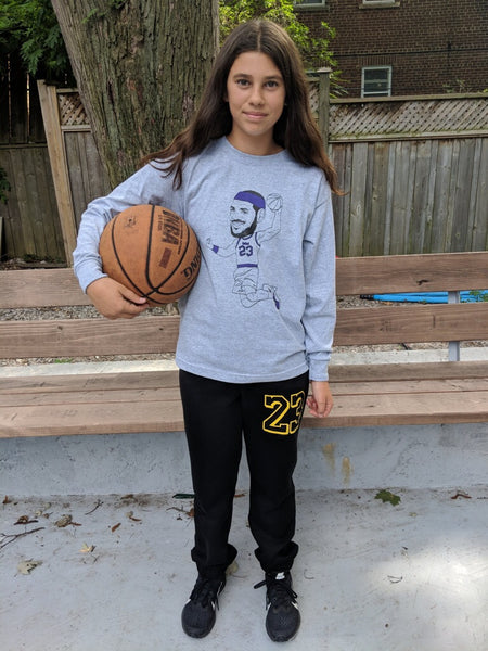 23 Lebron youth sweatpant