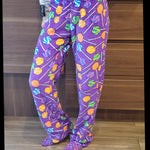 Women's Fleece PJ Pants - Lollipops