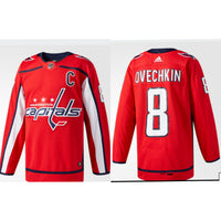 Ovechkin Adult Stitched Jersey