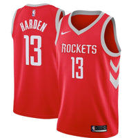 James Harden Adult Stitched Jersey - Red