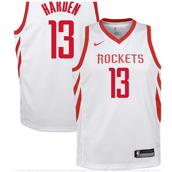 James Harden Adult Stitched Jersey- White
