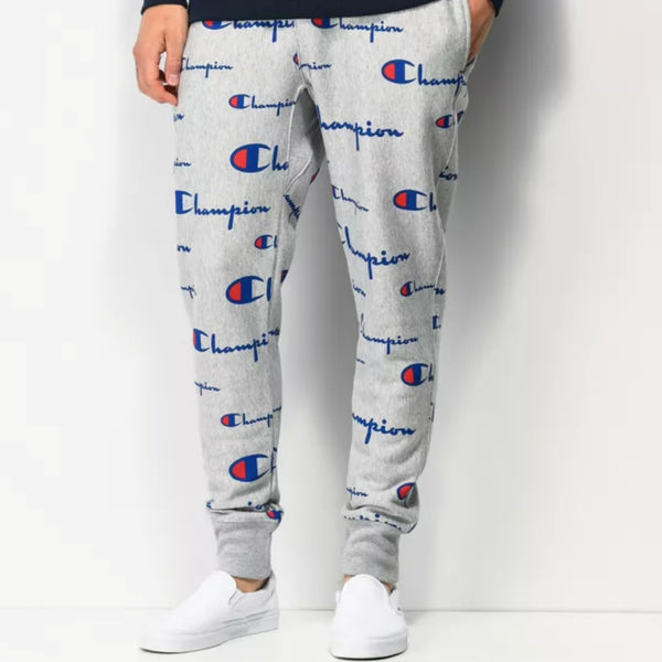Champion Adult Logo Sweatpant - Grey