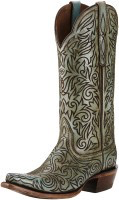 Ladies Ariat Sterling Snip Toe Boot, Turquoise