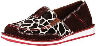 Ladies Ariat Giraffe Cruiser