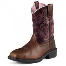 LADIES ARIAT KRISTA STEEL-TOE PULL-ON