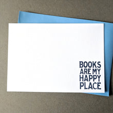 Books Are My Happy Place: Notecard Set