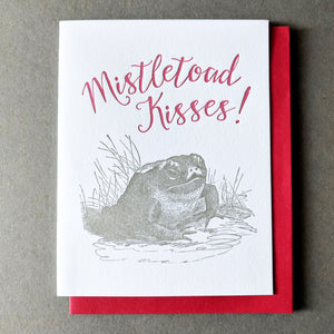 Mistletoad Kisses!: Christmas Cards