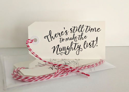 Naughty List: Gift Tags