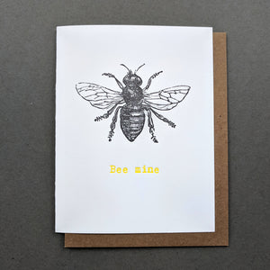 Love Letters: Bee Mine Valentines Card