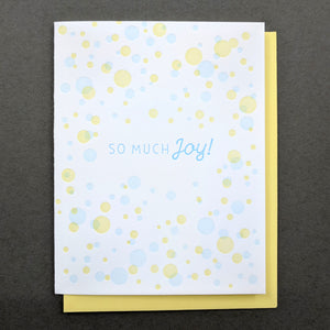 So much Joy! Happy Birthday Card