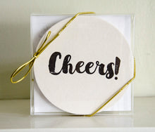 Cheers Coasters: Christmas Gifts