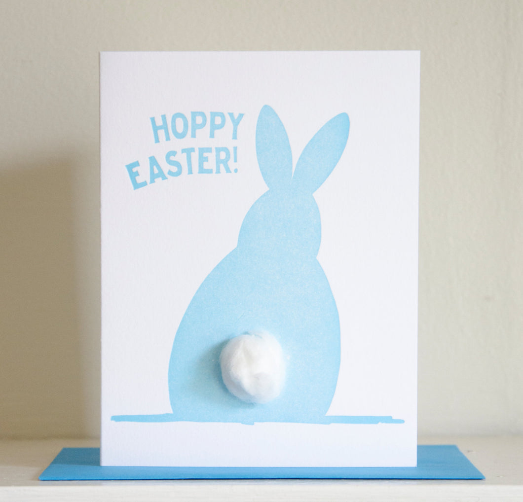 Hoppy Easter Bunny Card