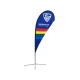 8ft Teardrop Flying Banner - FREE SHIPPING