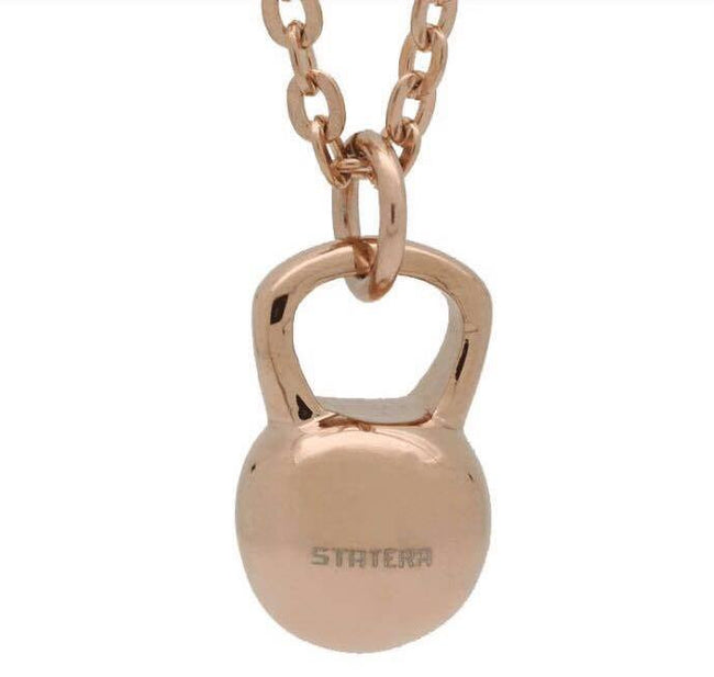 COLGANTE KETTLEBELL - BRONCE - Statera Apparel