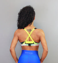 BLUE RAINBOW - Sport Bra - Statera Apparel