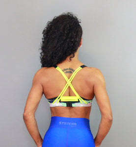 BLUE RAINDBOW - Sport Bra - Statera Apparel