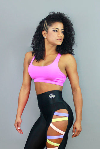 BASIC PURPLE - Sport Bra - Statera Apparel