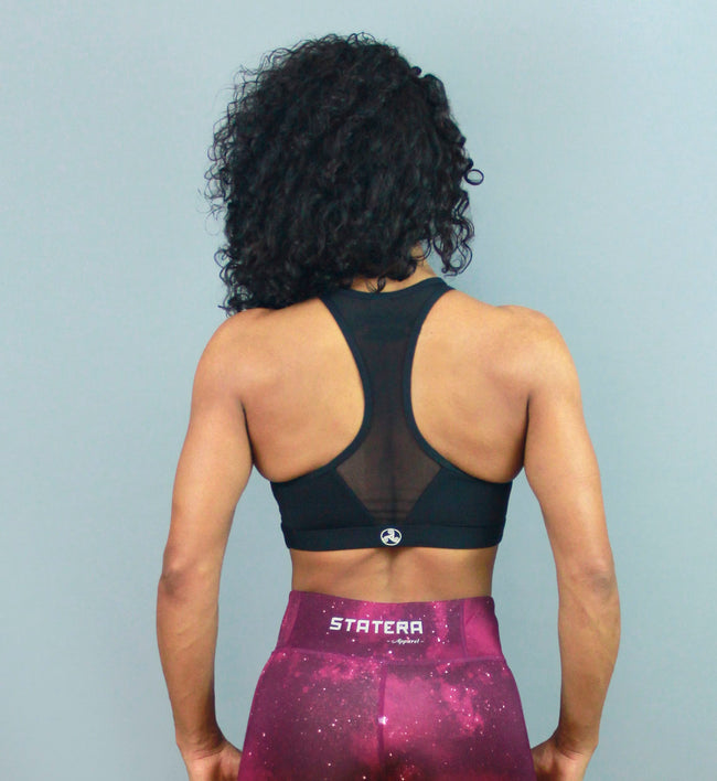 BLACK PUMP - Sport Bra - Statera Apparel