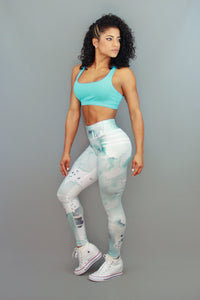 TURQUOISE SKY - Leggings - Statera Apparel