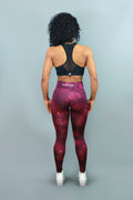 RED GALAXY - Leggings - Statera Apparel
