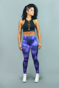 BLUE GALAXY - Leggings - Statera Apparel