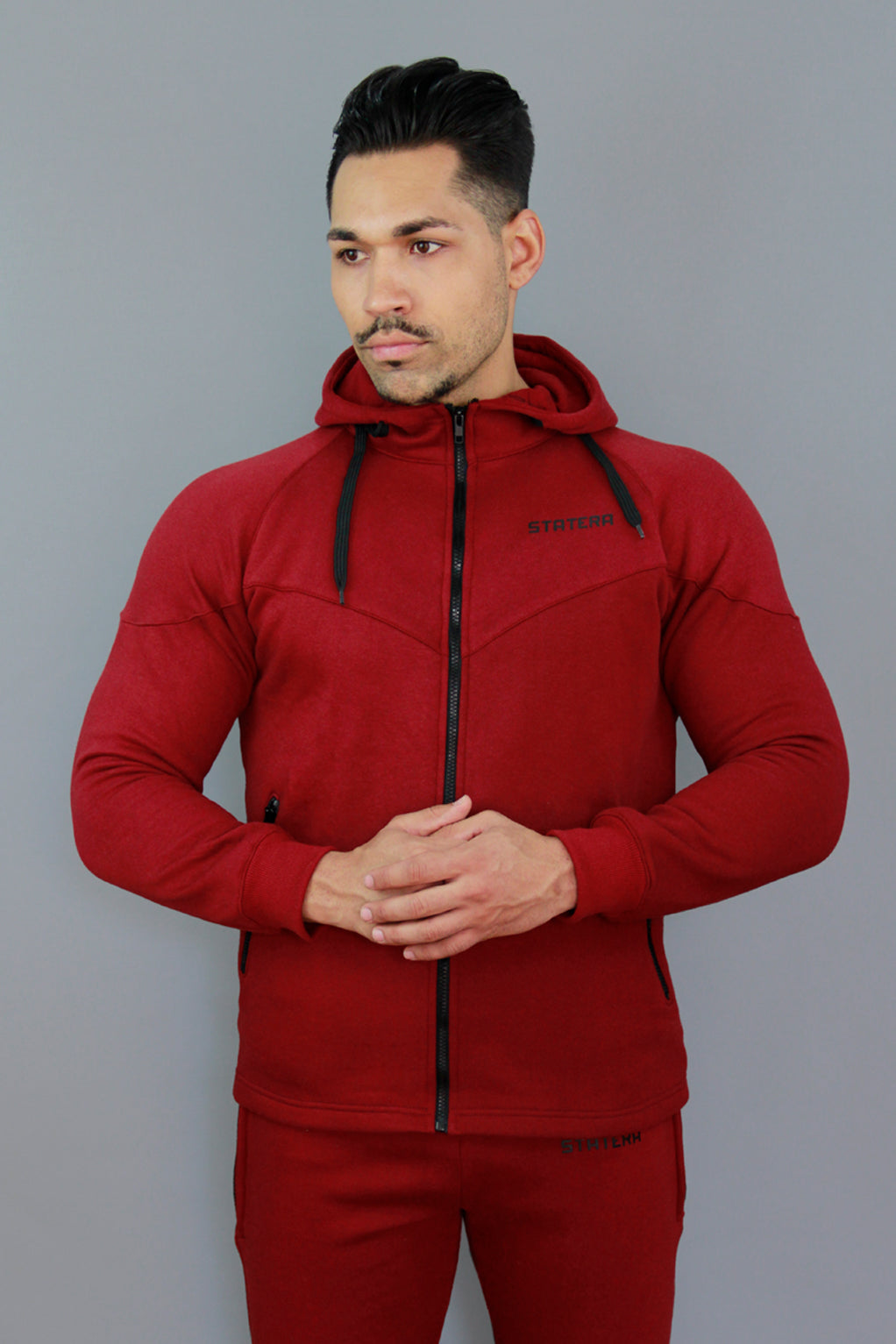 CHAQUETA THERMATEK - GRANATE - Statera Apparel