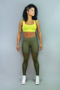 GREEN DIAMOND - Leggings
