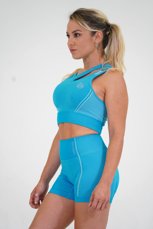 AirLift Blue - SPORT BRA