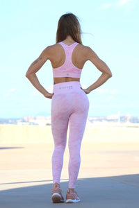Pink Savage Seamless - LEGGINGS - Statera Apparel