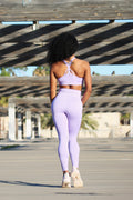 Air Purple Seamless - SPORT BRA
