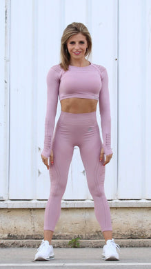 Elite Pink Seamless - LEGGINGS - Statera Apparel