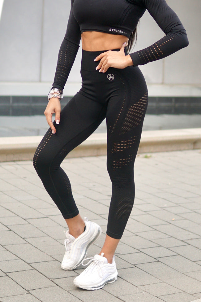 Elite Black Seamless - LEGGINGS