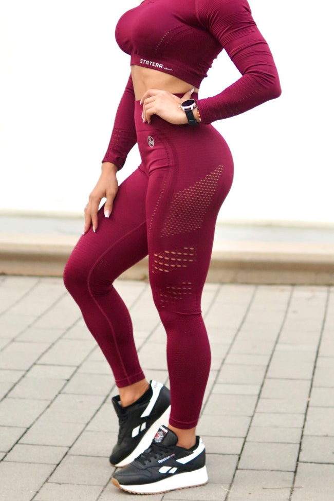 Elite Garnet Seamless - LEGGINGS