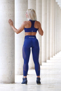 Blue Seamless - LEGGINGS - Statera Apparel