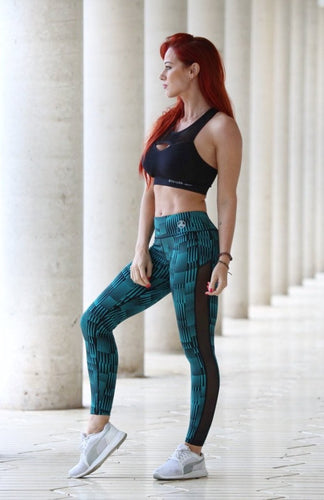 GREEN GALAXY - Leggings - Statera Apparel
