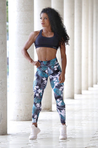FLORAL STRENGTH - Leggings - Statera Apparel