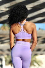LIGHT PURPLE SEAMLESS - Sport Bra