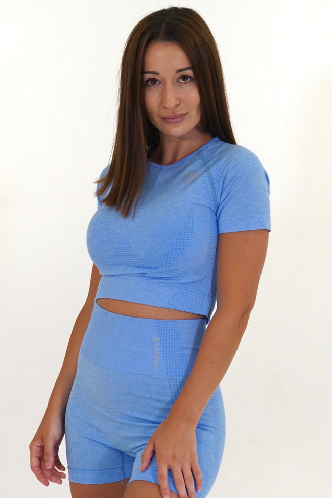 Impact Blue - CROP TOP