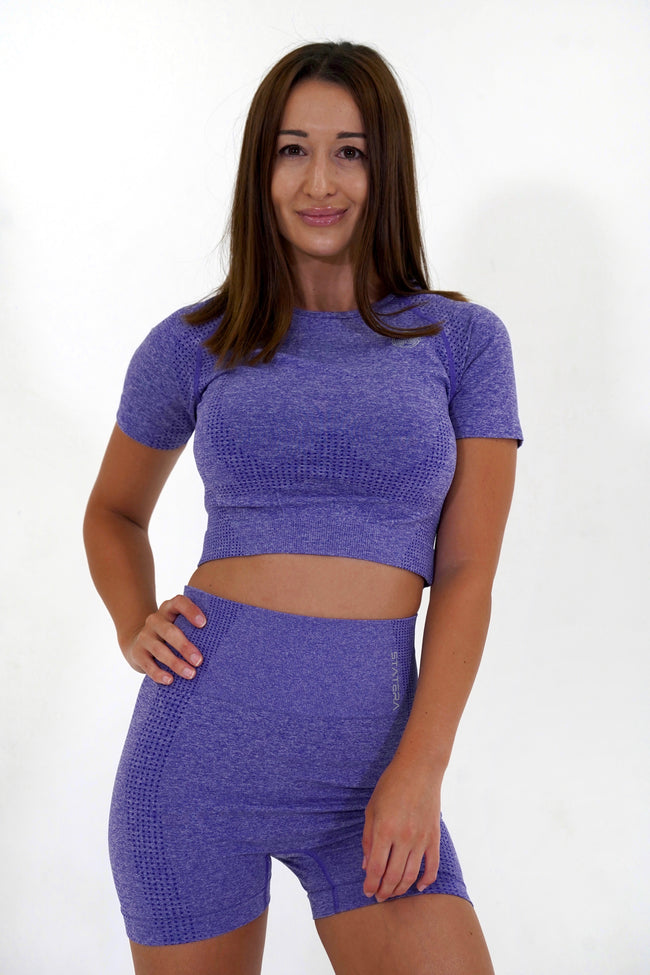 Impact Purple - CROP TOP
