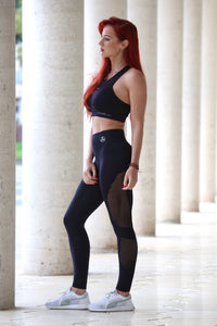 BLACK 1.0 SEAMLESS HIGH WAISTED - Leggings