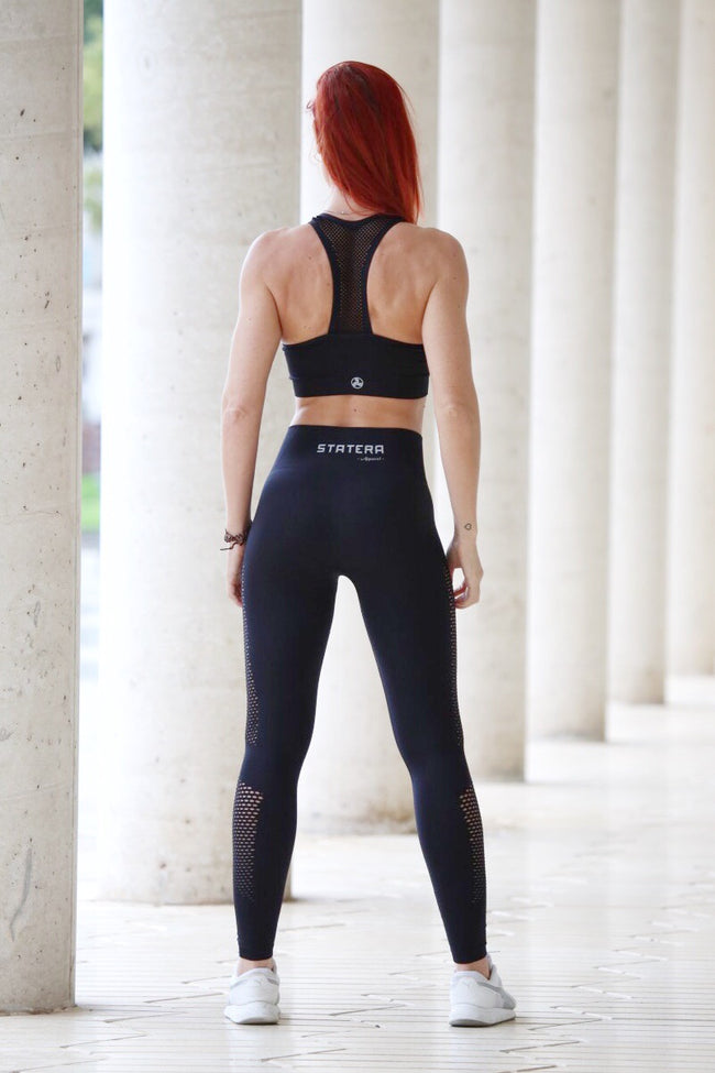 BLACK 1.0 SEAMLESS HIGH WAISTED - Leggings - Statera Apparel