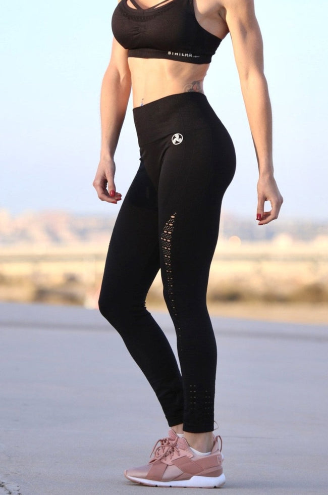 Air Black Seamless - LEGGINGS
