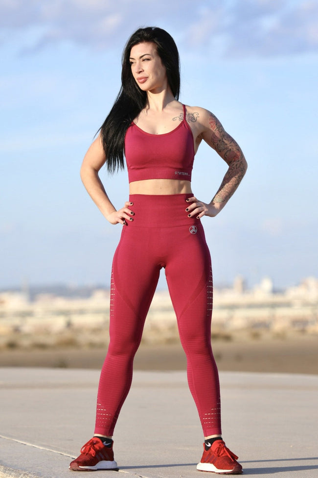 Air Garnet Seamless - LEGGINGS