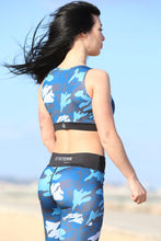 BLUE WARRIOR - Sport Bra - Statera Apparel